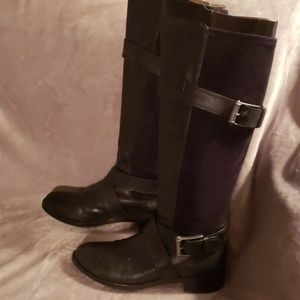 Cole Haan Air Whitney black suede boots 7.5B